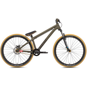 """NS Bikes Zircus etujousitettu maastopyörä 26"""" , oliivi"""